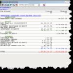 PMS Client's Trial Balance ( Firm's Desktop )