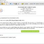 Send MTF Confirmation links